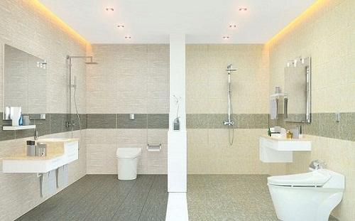 gạch ốp nhà tắm viglacera 1