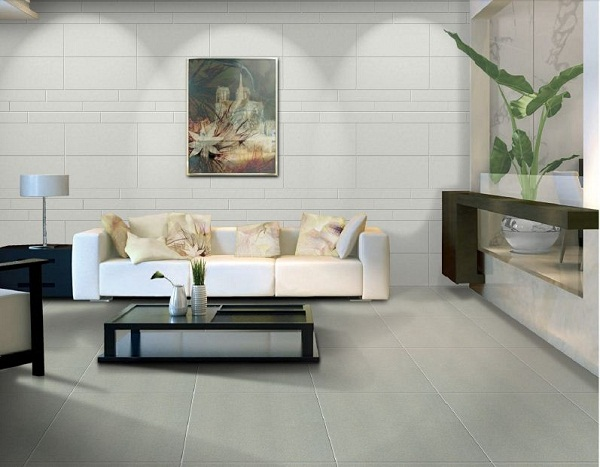 thủ thuật chọn gạch ốp tường phòng khách