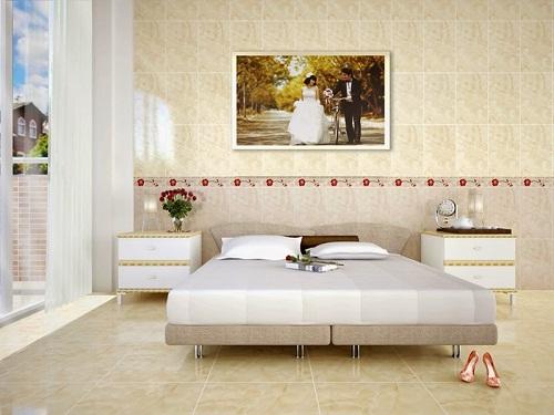 mẫu gạch ốp tường phòng ngủ 2