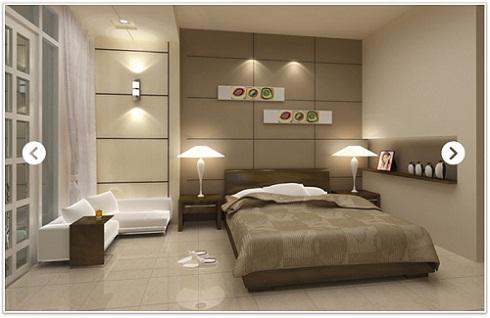 mẫu gạch ốp tường phòng ngủ 3