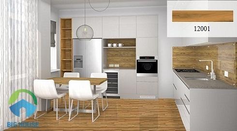 gạch lát nền nhà bếp đẹp 6