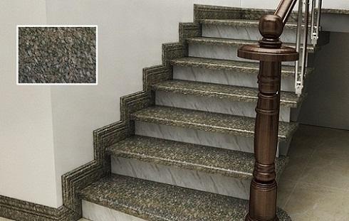 gạch ốp tường cầu thang bạch mã