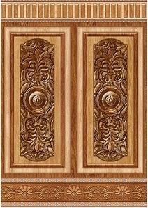 gạch ốp chân tường giả gỗ 2