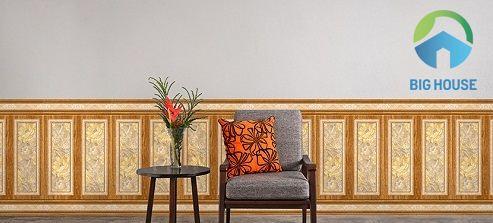 Top 3 mẫu gạch ốp chân tường giả gỗ SIÊU ẤN TƯỢNG cho các công trình