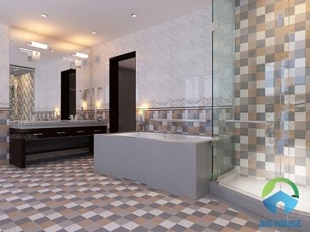 gạch ốp tường nhà tắm Viglacera 1