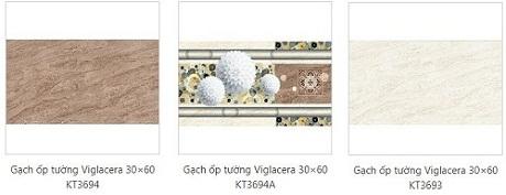 gạch ốp tường nhà tắm viglacera 2