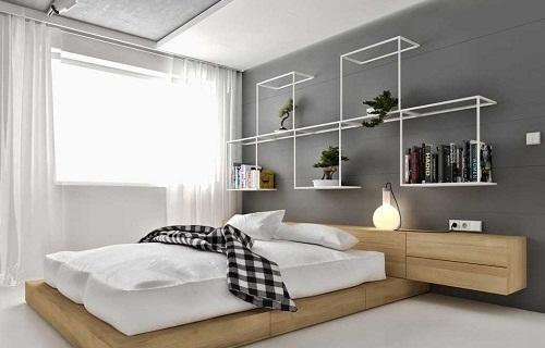 có nên ốp gạch tường phòng ngủ không