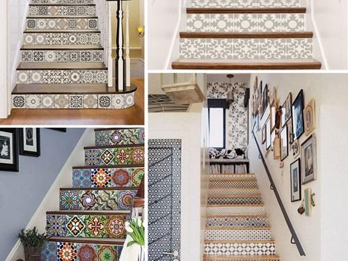 TOP mẫu Gạch bông lát cầu thang Đẹp phá cách kèm Cách chọn