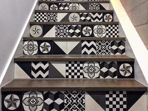 gạch bông lát cầu thang 4