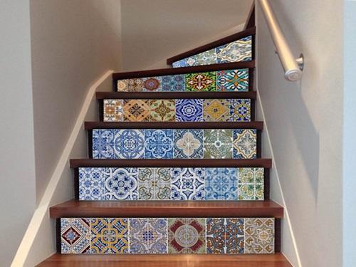 gạch bông lát cầu thang 5