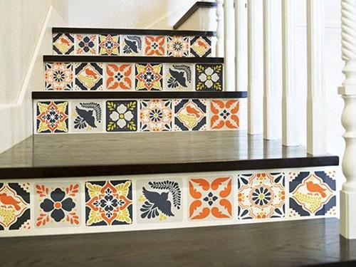 gạch bông lát cầu thang 6