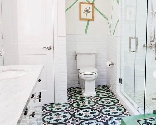 gạch bông lát nhà tắm