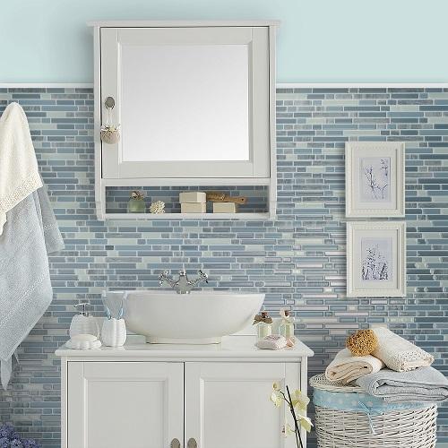 mẫu gạch dán tường nhà vệ sinh