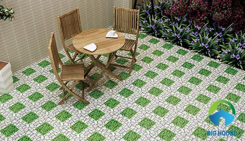 5 loại gạch lát sân vườn nhà phố Bền – Đẹp – Sang trọng nhất hiện nay
