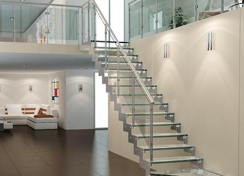 cầu thang nhà ống 2 tầng 10