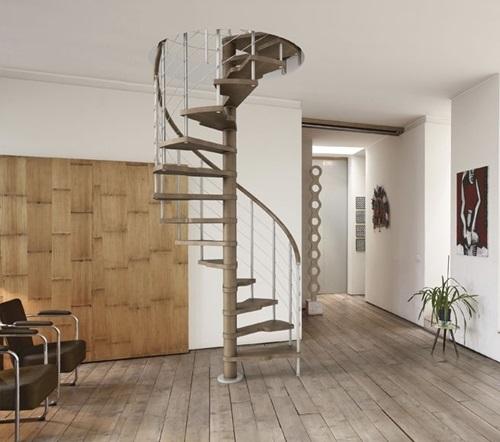 cầu thang nhà ống 2 tầng 7