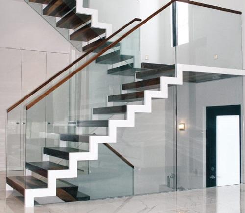 TOP mẫu cầu thang ziczac đẹp ấn tượng phù hợp với mọi không gian