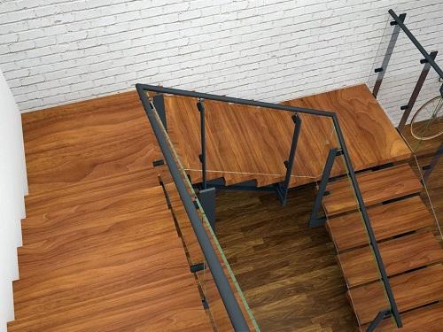 cầu thang 2 chiếu nghỉ 4