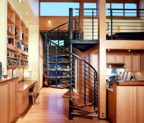 cầu thang nhỏ gọn 2