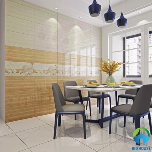 Bộ gạch ốp tường nhà bếp men bóng của Vitto