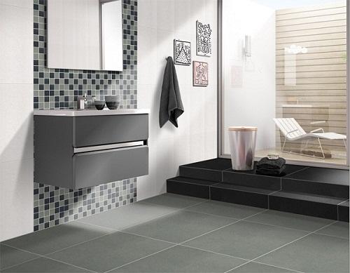 Mẫu gạch ốp nhà vệ sinh mosaic