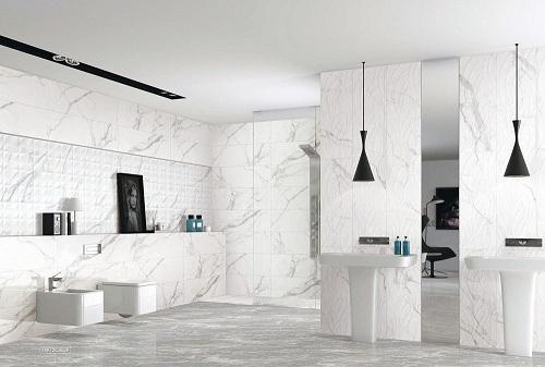 Tổng hợp các mẫu gạch ốp lát nhà vệ sinh đẹp – không sợ lỗi mốt