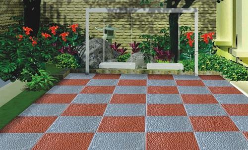 mẫu gạch granite lát sân thượng đẹp mắt